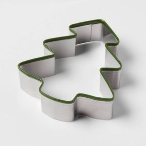 Other - Christmas tree Stainless Steel Cookie Cutter nwt